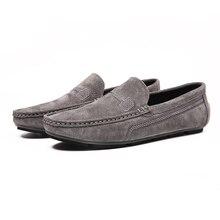 Genuine Leather Men Casual Shoes Fashion Men