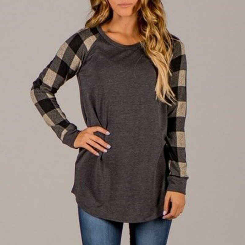 Manta da forma Das Mulheres Soltas Tops Manga Comprida Casual Bordado Jumper Sweater S-5XL