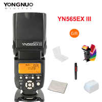 YONGNUO YN565EX III Drahtlose TTL-Slave-Blitz Speedlite GN58 Hohe Geschwindigkeit Recycling System Unterstützt USB Firmware Upgrade für Canon