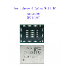 5 יח'\חבילה 339S0228 עבור iphone 6 6 בתוספת גבוהה-tem טמפ wifi WI-FI IC שבב טמפרטורת סוג Lemperature(China)
