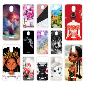 Phone-Case Bumper Tp-Link Neffos C5 Silicone Coque Plus for Soft-Tpu DIY Painted