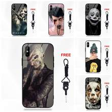 Rick genest Zombie chłopiec Pop Panda tygrys dla Apple iPhone 5 5C 5S SE 6 6S 7 8 Plus X XS Max XR(China)