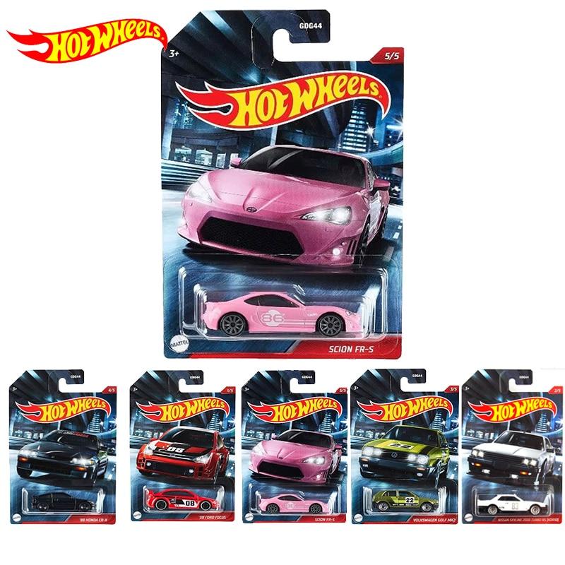 New Original Hot Wheels Car Toy Nightburner 1/64 Diecast Model Car Toys for Boys Hotwheels Carro Car Collection Edition