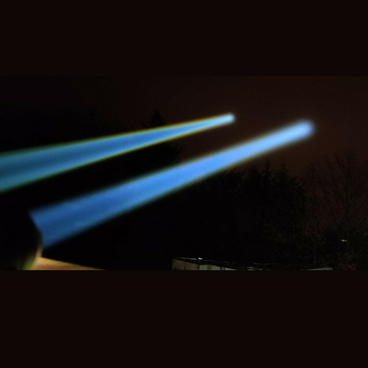 JETBEAM 1000M White Laser LEP Flashlight Spotlight Long Throw Light Torch 21700