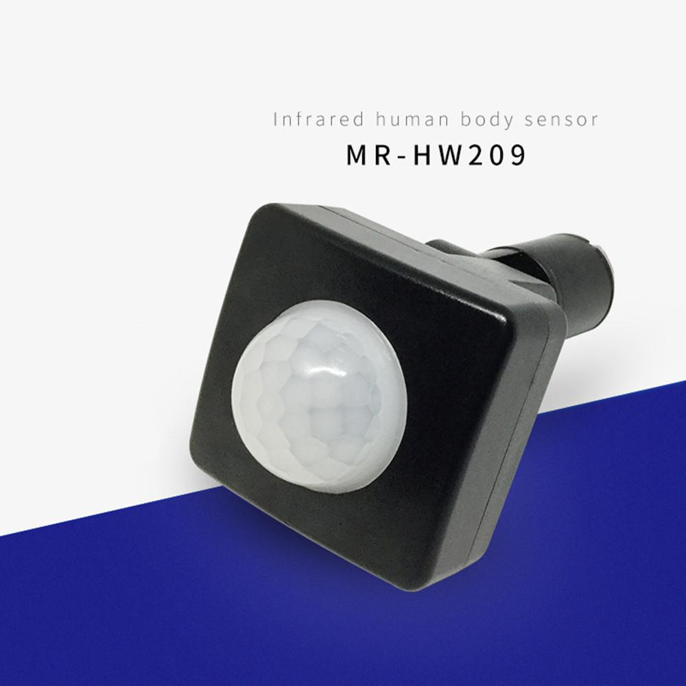 85-265V Outdoor Security PIR Human Body Motion Sensor Detector Inductor Switch For Led Floodlight Home Lighting LED Lamp