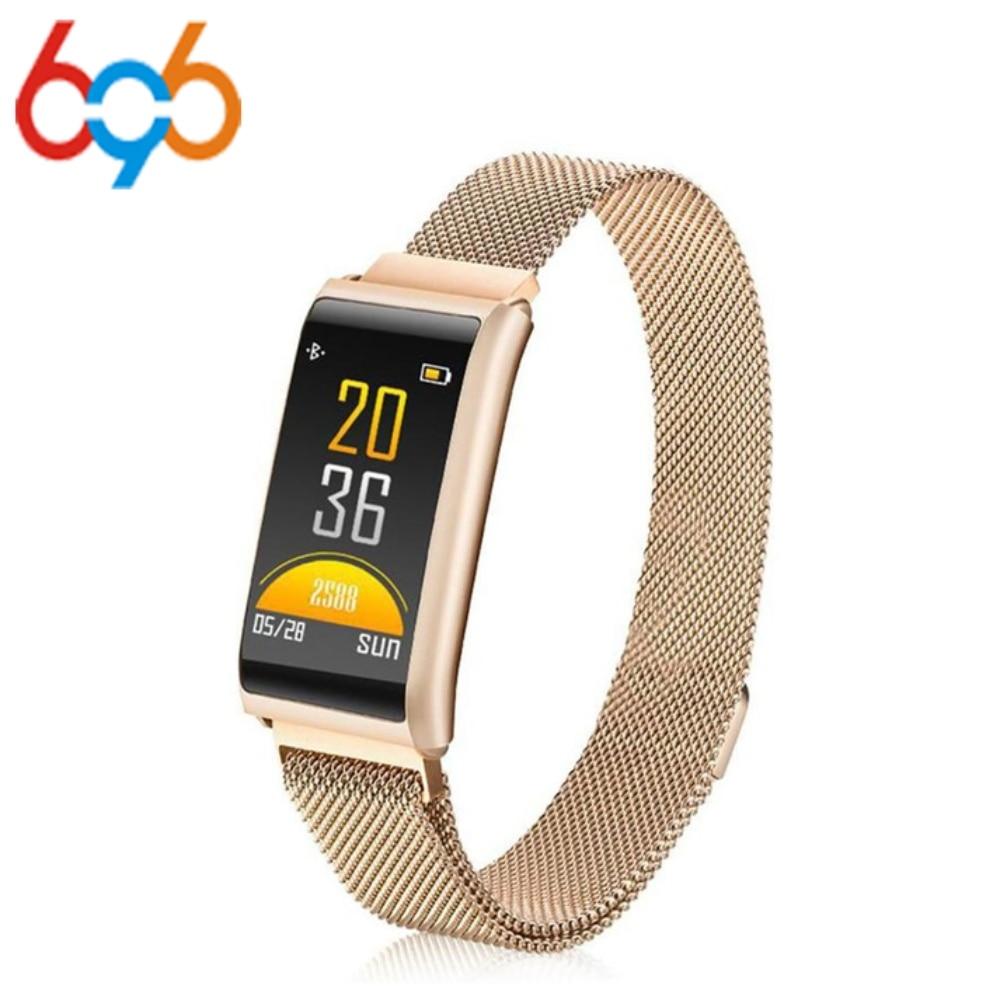696 Smart R02 Bracelet Sleep Monitor Fitness Tracker Heart Rate Smart Bracelet Blood Pressure Smartband Color Screen Band
