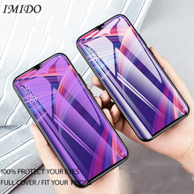 IMIDO Full Cover for Anti Blue Tempered Glass VIVO X21S U1 Anti-Blue Screen Protector Protective Film