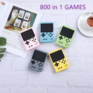 Image 1 - 2020 nowy 800 w 1 Retro gra wideo konsola Handheld Game przenośny kieszonkowy konsola do gier Mini Handheld Player dla dzieci Player Gift