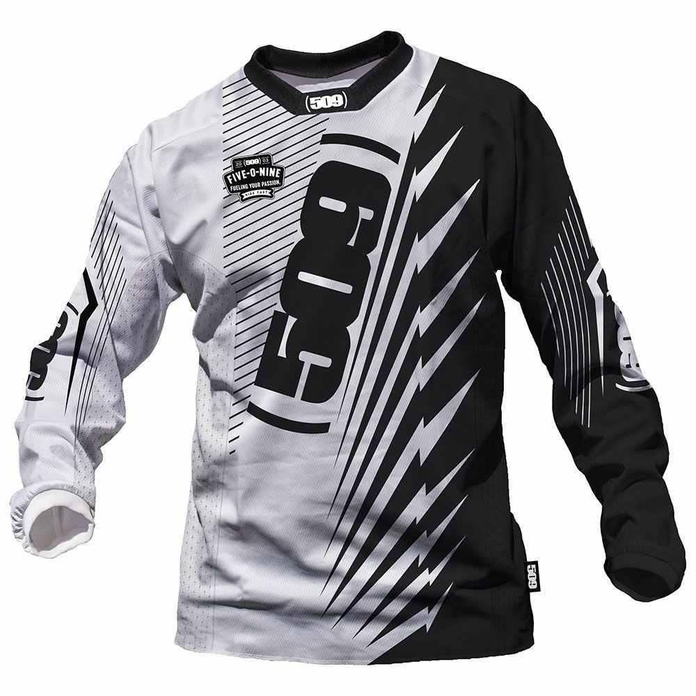 2020 ชายแบรนด์Moto GP MountainจักรยานจักรยานMotocross Jersey Offroadแข่งขี่DH MTBเสื้อยืดเสื้อผ้าXS-5XL 509 FXR DH