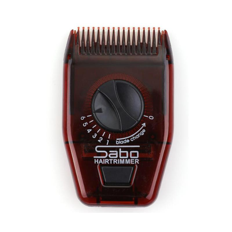 Hot Hairdressing Comb Portable Travel Mini  Hair Brush Comb With Razor Electric Comb Cutting Thinning Combs Hair Styling Tool