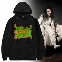 Billie Eilish Fashion Streetwear Hoodies Sweatshirt Casual Men Women Hooded Pullover Long Sleeve Sport Hip Hop Hoodie Top Clothe