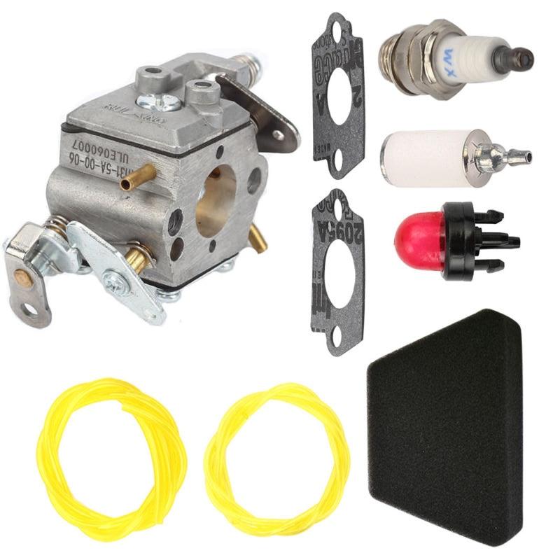 Air Fuel Filter Carburetor Spark Plug Kit For Poulan 2250 2350 2375 2450 2550 222 262 Chainsaw Walbro WT-891 Zama C1U-W8 C1U-W14