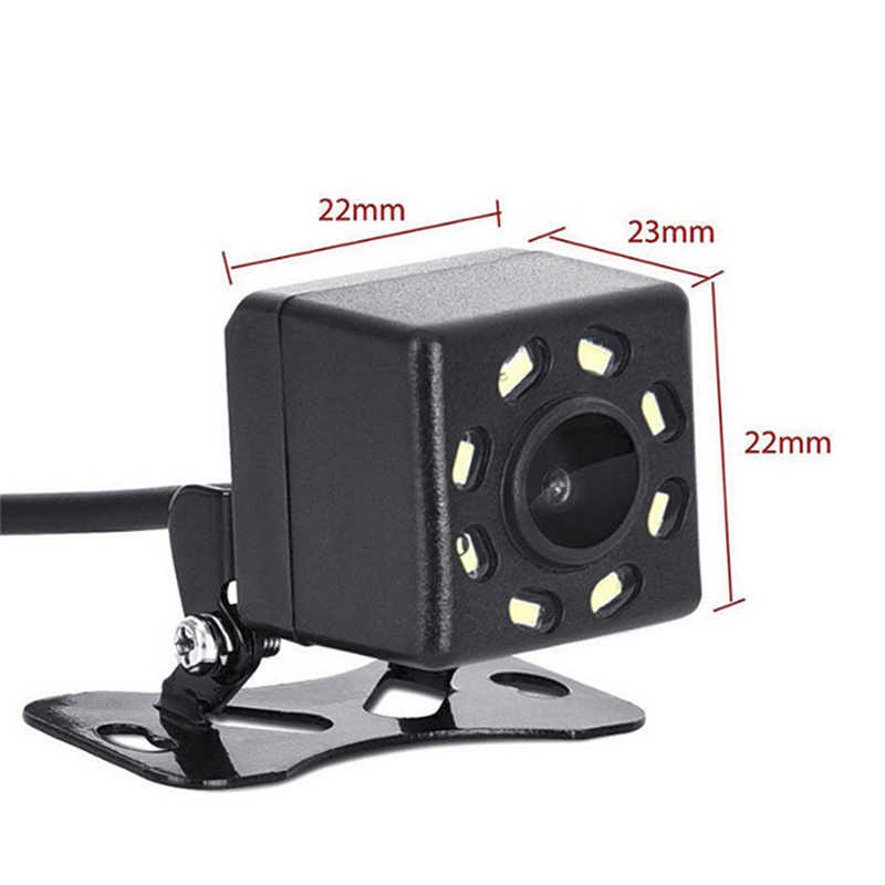 YuanTing ユニバーサル車のバックアップ逆カメラ 170 度の視野角 8 オート Led ライトナイトビジョン防水