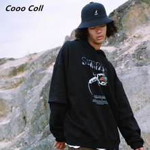 CoooColl Fashion Cotton Loose HIPHOP 19FW COMPETITOR Grey Black Casual New Hooded Winter Hip Hop Mens HOODIE Tops Hoodies Women