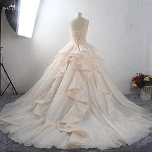 Image 2 - Robe de mariée de luxe, LZ398, robe de mariée magnifique et brillante, sur mesure, nouvelle collection