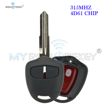 цена на Remtekey Remote key 2 button MIT8L 315MHZ 4D61 chip for Mitsubishi outlander Montero Pajero Shogun Triton Lancer Evo CT9A Vll