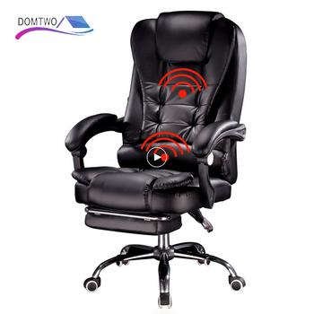 Nowe produkty boss krzesło do pracy na komputerze office home obrotowy fotel do masażu podnoszenie regulowane krzesło tanie i dobre opinie DOMTWO CN (pochodzenie) Fotel dyrektora Fotel z podnoszonym siedzeniem krzesło obrotowe FOTEL BIUROWY Meble komercyjne