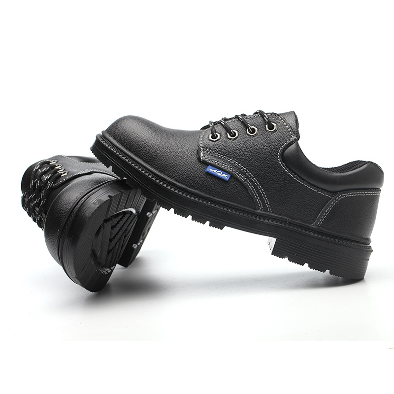 Low Top Shoes Anti-smashing And Anti-stab Safety Shoes Manufacturers Direct Selling Wear-Resistant Resin Sole Safety Shoes