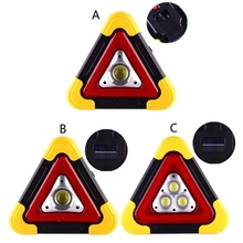 Warning-Sign Multi-Function Triangle Car-Led-Work-Light Road Safety Emergency