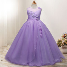 Детская одежда; Детский костюм для больших мальчиков; длинное платье для девочек; платье принцессы с вуалью