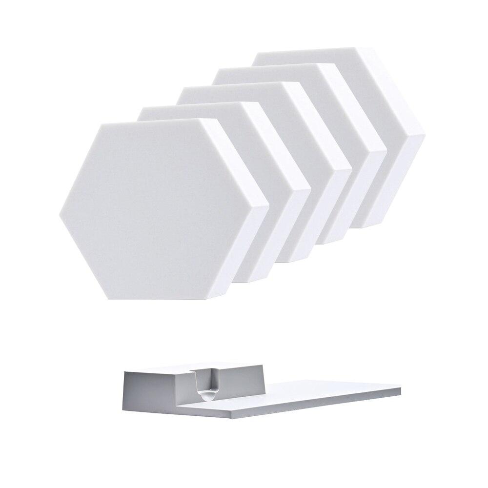 10 шт./компл. сделай сам Quantum Ночной светильник сенсорный модульный шестиугольник светильник Панель лампа минималистский Пользовательские ... - 2