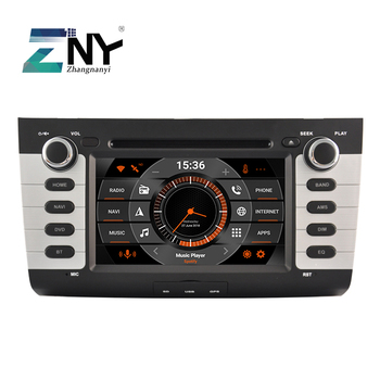 7 Android 10 Car Stereo GPS For Suzuki Swift 2005 2006 2007 2008 2009 2010 Auto Radio FM Navi DVD DSP Audio Video Rear Camera image