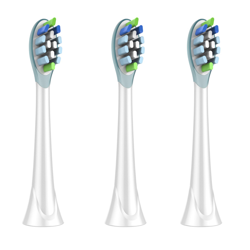 3PCS Tooth Brush HEADS For PHILIPS Sonicare HX6212 HX6220 HX6221 HX6231 HX6250 HX6252 HX6253 HX6311 HX6320 HX6322 HX6330 HX6340