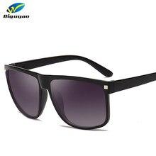 DIGUYAO – lunettes de soleil pour hommes, marque de luxe, rivets carrés, nuances pour femmes, rétro noir, oculo de sol masculino Zonnebril