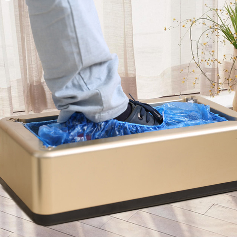 Automatic Shoe Cover Machine Intelligent Shoe Sleeve Tool Disposable Foot Cover Machine Shoe Film Device  Waterproof PE