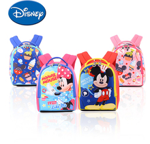 Disney Toddler Anti Lost Backpack Cartoon Breathable Light Weight Children Walking Strap Leashes Waterproof Schoolbag