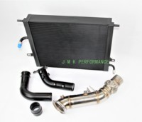 70mm intercooler watercooler chargepipe turbo downpipe exhaust pipe sets for bmw 120 220 320 330 420 430 X3 X4 b48 2.0T engine