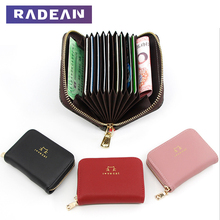 2019 Mini Wallet Zipper Women Short Card Holder Wallet Small Womens wallets High Capacity Female Credit Card Holders Purses