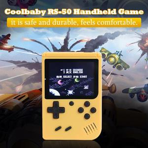 Image 2 - RS 50 Video Game Console Built in 500 Games Handheld Game Console Retro Tetris Nostalgic Gaming Player Best Gift for Child