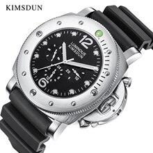 KIMSDUN Luxury Brand Mechanical Watch Men Automatic Leather