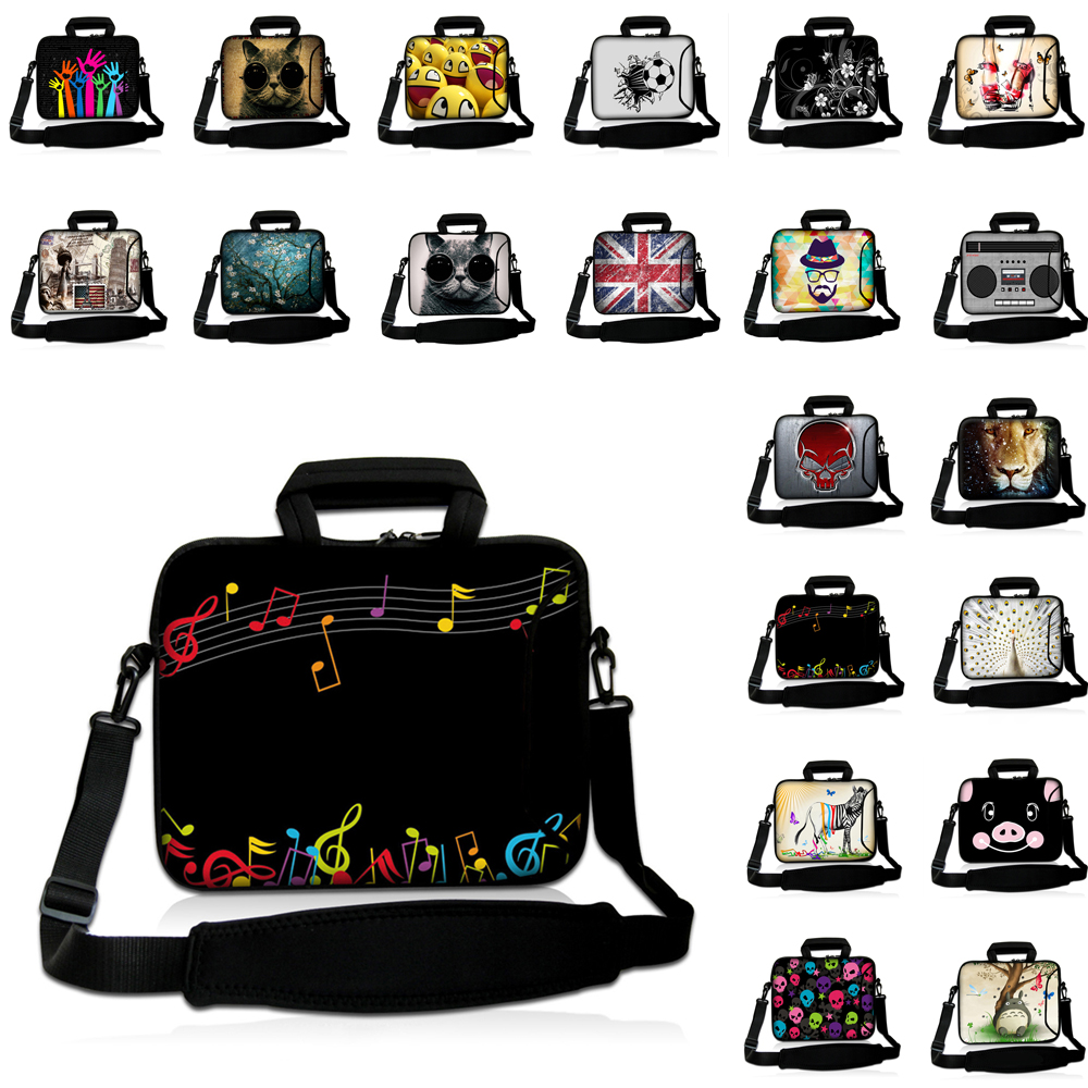 10 11.6 <font><b>13.3</b></font> 14 15.4 15.6 17.3 Inch Notbook Protect Case Computer <font><b>Laptop</b></font> Shoulder Messenger <font><b>Bag</b></font> For Macbook Air Pro 13 2016 2018 image