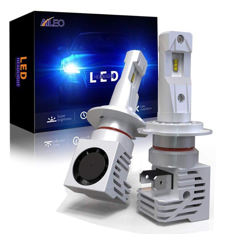 AILEO Car Headlight Bulb H7 LED 60W 12000Lumens Plug-N-Play Extremely Bright 6000K ZES Chips Conversion Kit