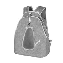 Cats Home Accessories Carrying Small Portable Travel Backpack Puppy Bag Pet Carrier Cats with Window Dog Transport Carrier Petty