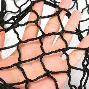 Image 3 - Universal Cargo Net für Auto Stamm 70x70cm Stamm Gepäck Lagerung Transport Organizer Nylon Dehnbare Elastische Mesh Net mit 4 Haken