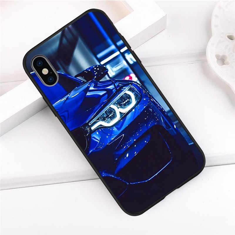 Coche de lujo chico para iPhone X XR XS Max 5 5S SE 6 6S 7 8 Plus Oneplus 5 funda para teléfono T Pro 6T funda capinha capa