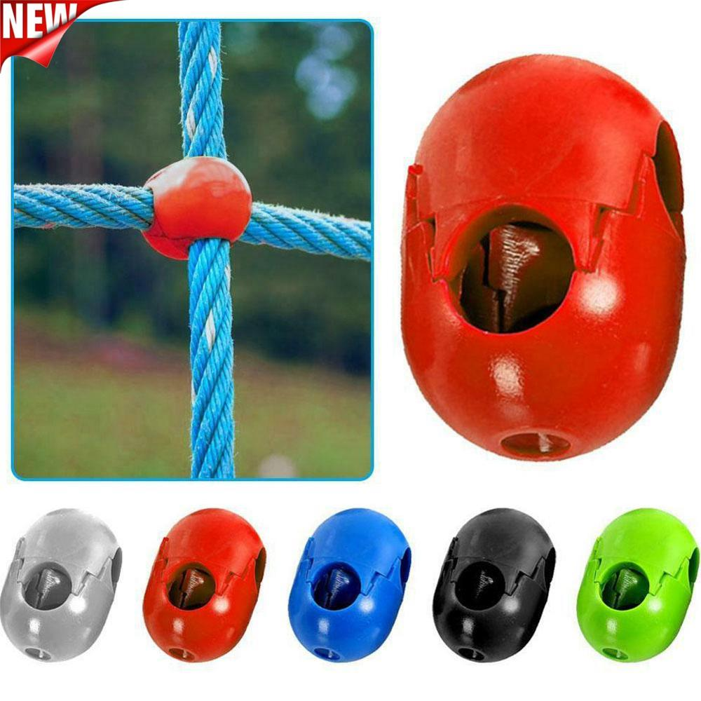 5Pcs Kids Climbing Rope Net Plastic Buckle Connector Outdoor Swing Accessories