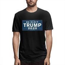 100% cotton Trump_2020 print casual mens o-neck t shirts fashion Mens Short Sleeve T-shirt