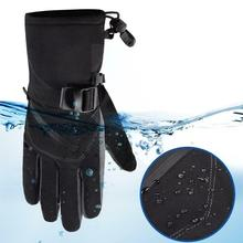 Winter Ski Waterproof Gloves Cold-proof Warm-sliding and Thickened Sports Cold Warm