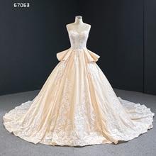 J67063 Jancember Quinceanera Jurken Strapless Sleeveless Ruffle Applique Patroon Lace Up Vestidos Dulces 16