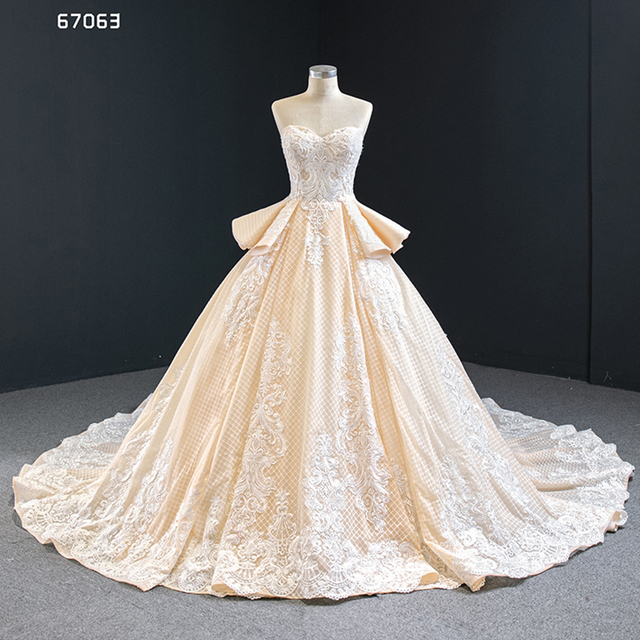 J67063 Jancember Quinceanera שמלות סטרפלס ללא שרוולים לפרוע אפליקצית דפוס תחרה עד בחזרה Vestidos Dulces 16