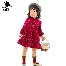 2019 Autumn Kids Dress for Girl Cotton Pricess Toddler Baby Long Sleeve
