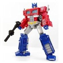 로봇 공성전 사이버 트론 보이저 레드 카 OP 클래식 장난감 소년 액션 피규어