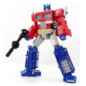 Image 1 - רובוט מצור המלחמה על סייברטרון וויאג ר אדום רכב OP צעצועים קלאסיים לבנים פעולה דמויות