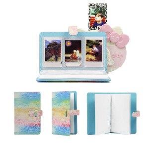 Image 2 - Álbum de fotos de 3 Polegada 96 bolsos, livro de armazenamento para fujifilm instax mini 11 8 9 7s 50 90 mini tamanho de papel do filme