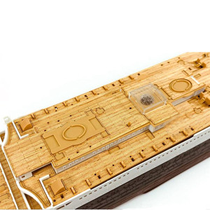Image 4 - Wooden Deck for Academy 14215 1/400 Scale RMS Titanic CY350044 DIY Model