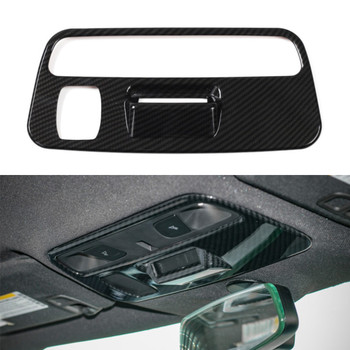 For Chevrolet Camaro 2017+ Roof Reading Lamp Linght Cover Stickers ABS Carbon Fiber Decal Car interior Accessories Stylings